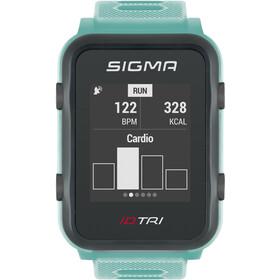 SIGMA SPORT iD.TRI Multisport Horloge Set, neon mint